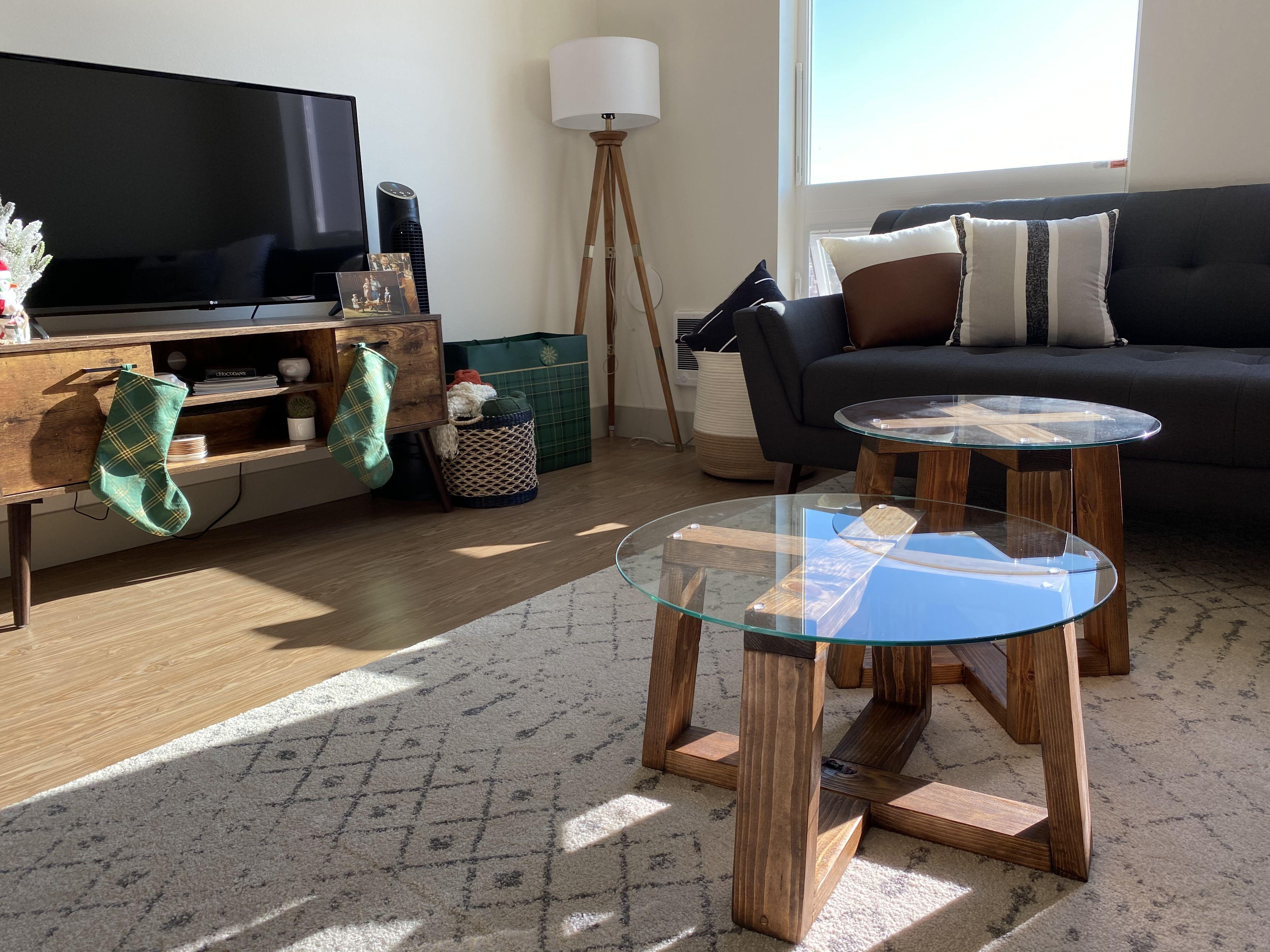 Glass Coffee Table Duo Ians Furniture Coffee Table Table Glass Coffee Table [ 3024 x 4032 Pixel ]
