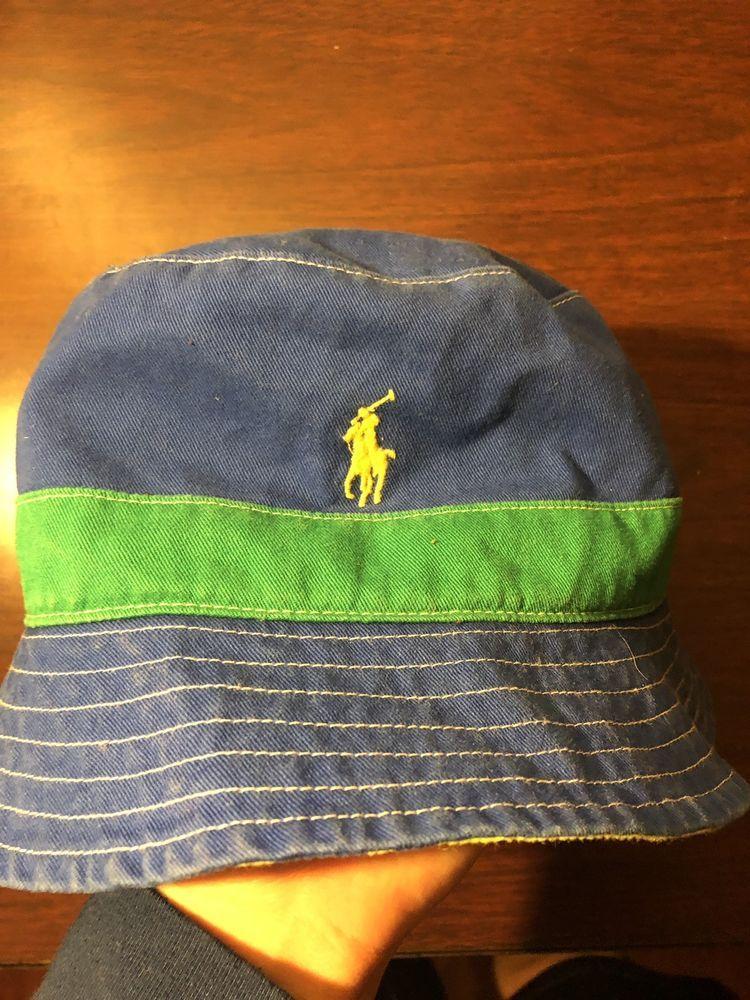 1b10f17cb95f5 Polo ralph lauren Reversible Bucket Hat Sz M L sport  fashion  clothing   shoes  accessories  mensaccessories  hats (ebay link)