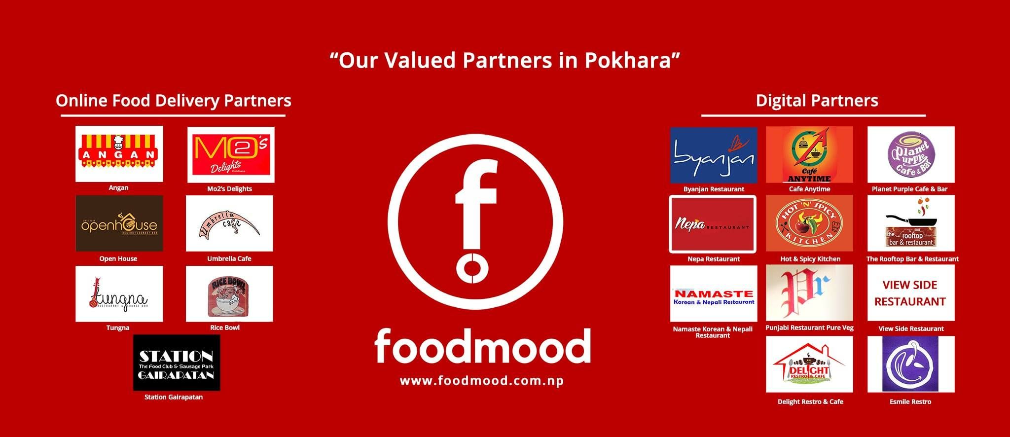 Food Mood's partners in Pokhara! | Online food order and