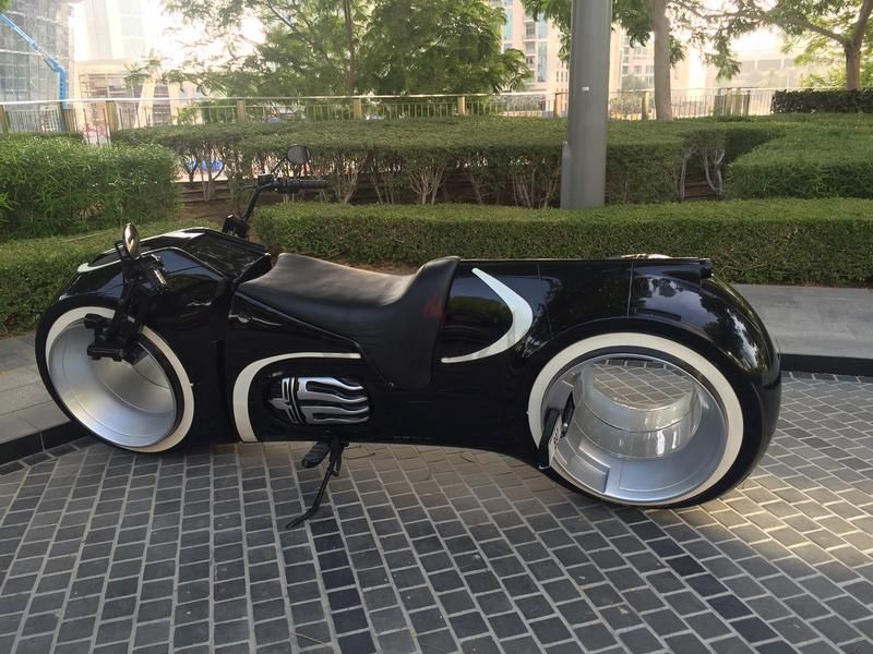 Tron Motorcycle For Sale On Dubizzle For Just AED 165,000