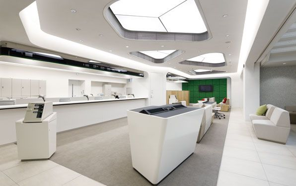 retail bank design itau | Bank design | Pinterest | Banks, Retail and  Interiors