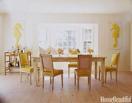 Três em Casa: sala de jantar
