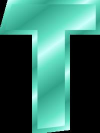 Free Letter T Clip Art Effect Letters Alphabet T Silver Clip Art Vector Free Vectors 265 Lettering Alphabet Letters Free Lettering
