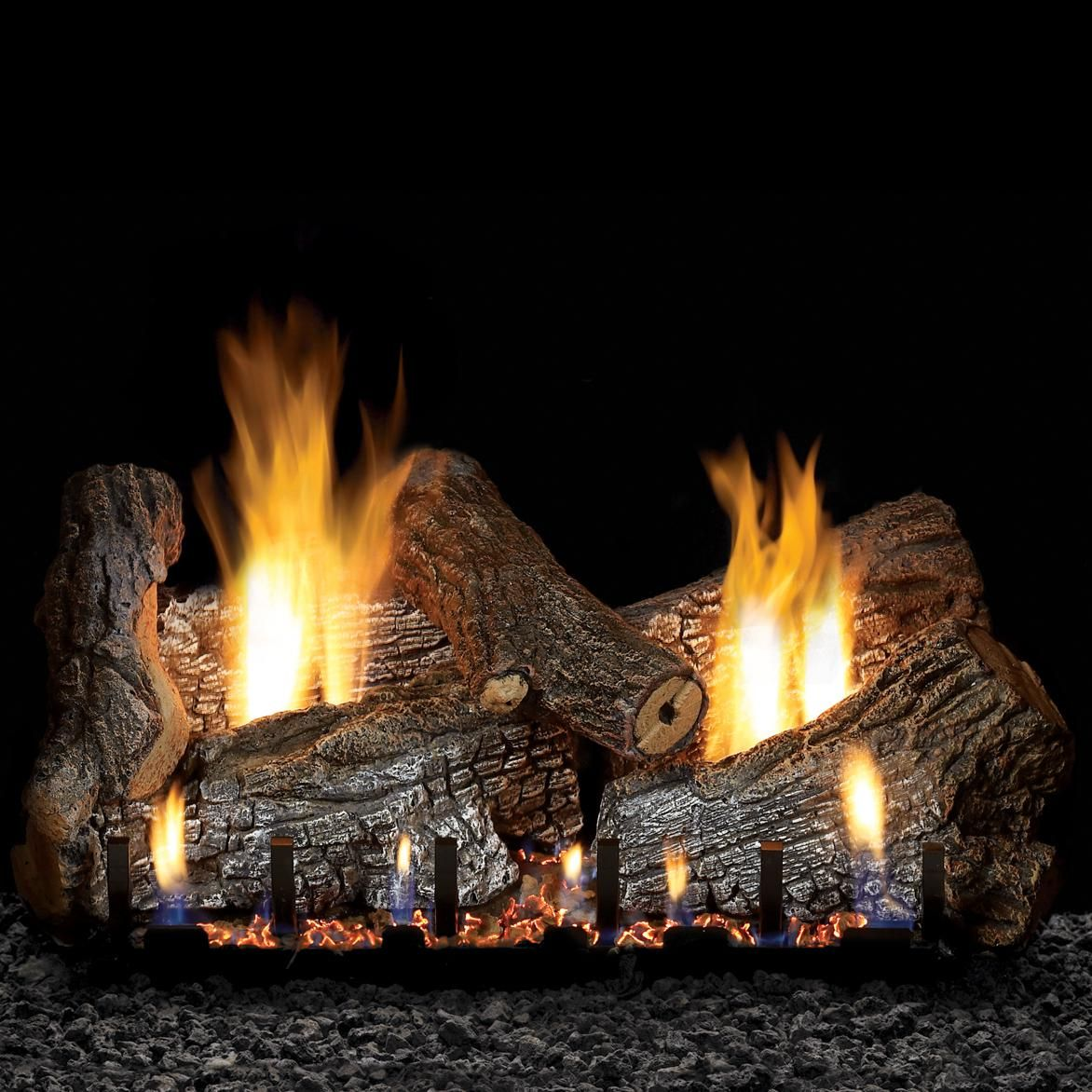 White Mountain Hearth By Empire 24 Inch Sassafras Gas Log Set With