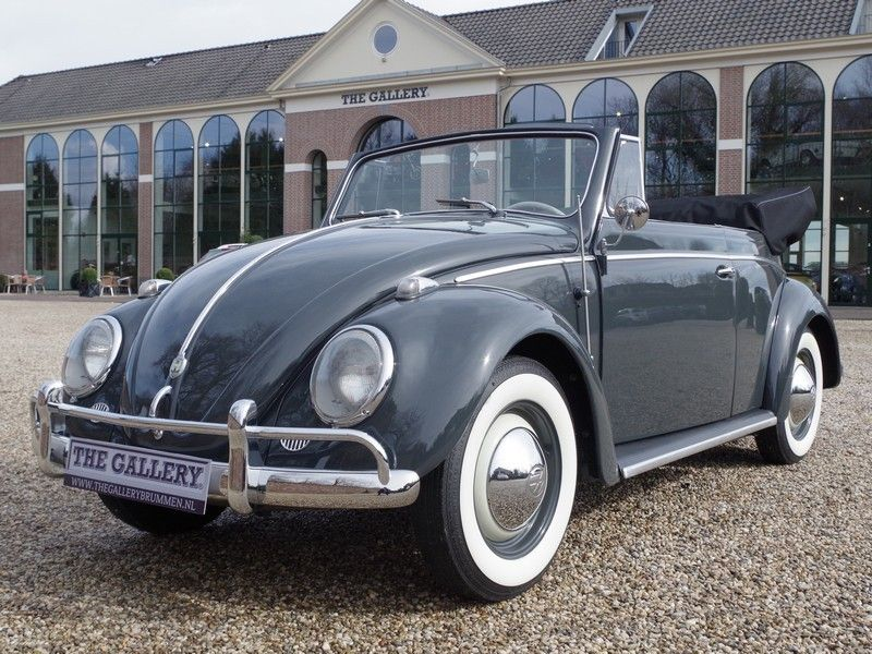 vente voiture ancienne de collection volkswagen coccinelle convertible early type fully. Black Bedroom Furniture Sets. Home Design Ideas
