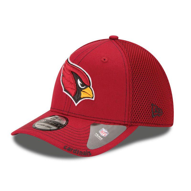 buy online 5c1e3 87a3c Arizona Cardinals New Era Neo 39THIRTY Flex Hat - Cardinal