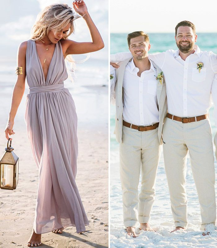 Decoding Guest Dress Code For Every Wedding Style Beach Wedding