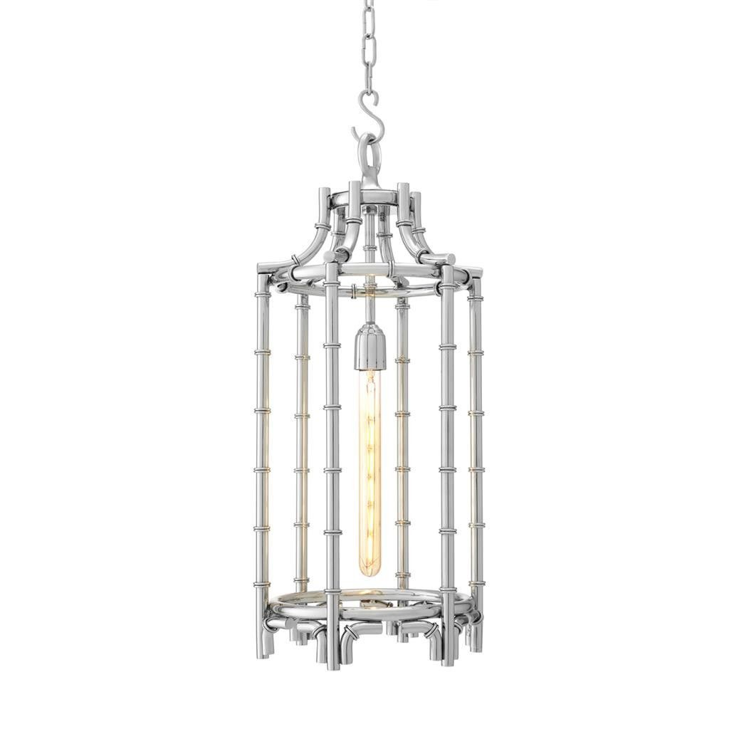 eichholtz owen lantern traditional pendant lighting. Stainless Steel Hanging Lantern   Eichholtz Vasco Owen Traditional Pendant Lighting R