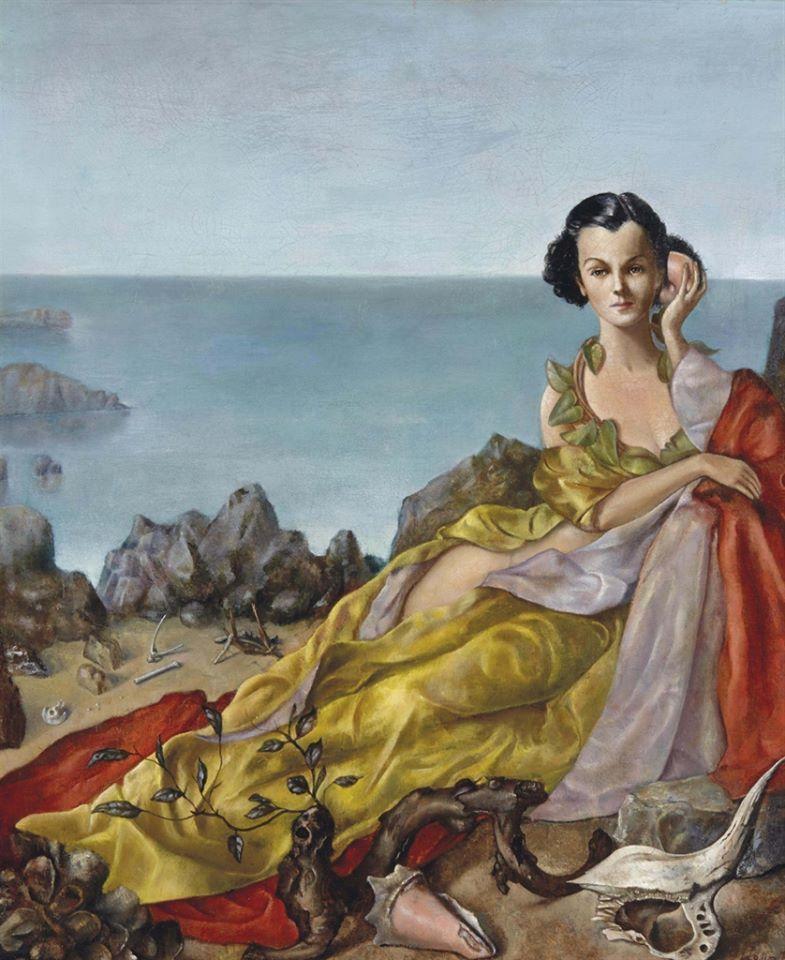 Leonor Fini (19071996) Mujer con Caracola (1940