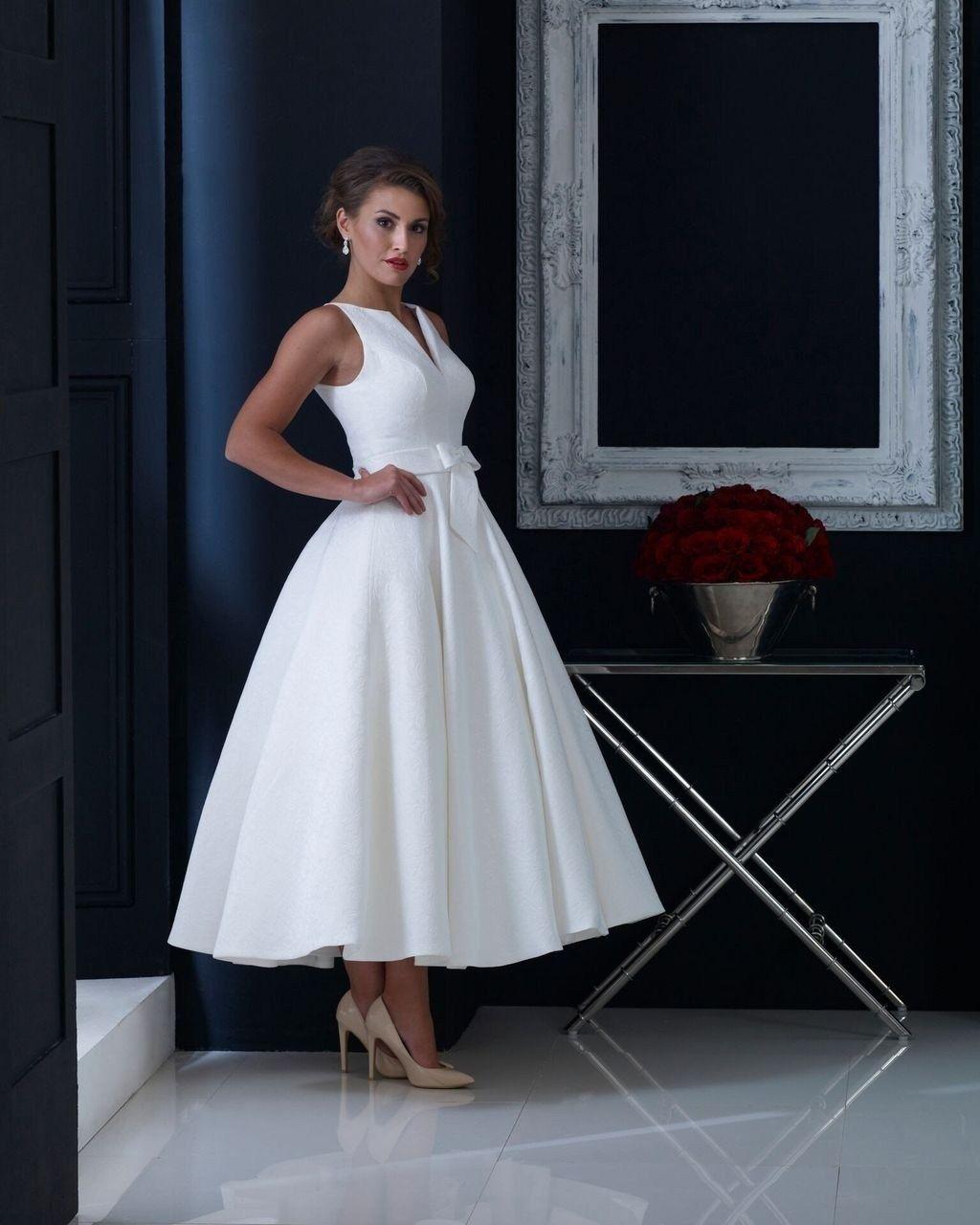 45 Gorgeous Tea Length Wedding Dresses Ideas Dreams