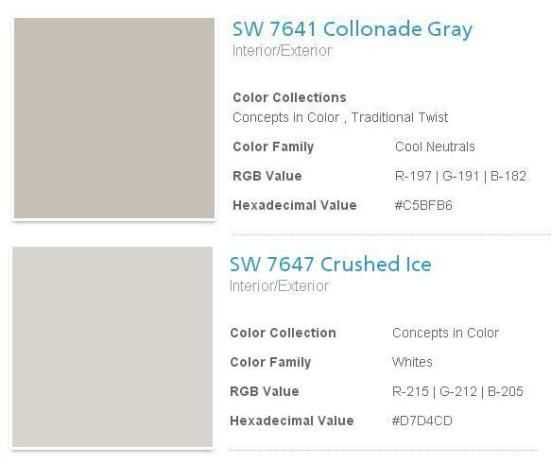 Sherwin Williams Collonade Gray Google Search Paint Colors Pinterest Bedrooms