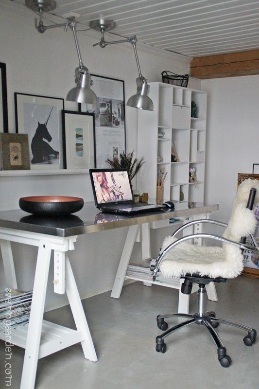 Svenngården: Endringer på kontoret