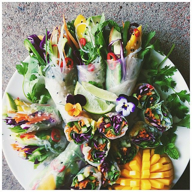 Abundance Rice Paper Rolls Are The Best Way To Pack Fresh Veggies In Your Lunch