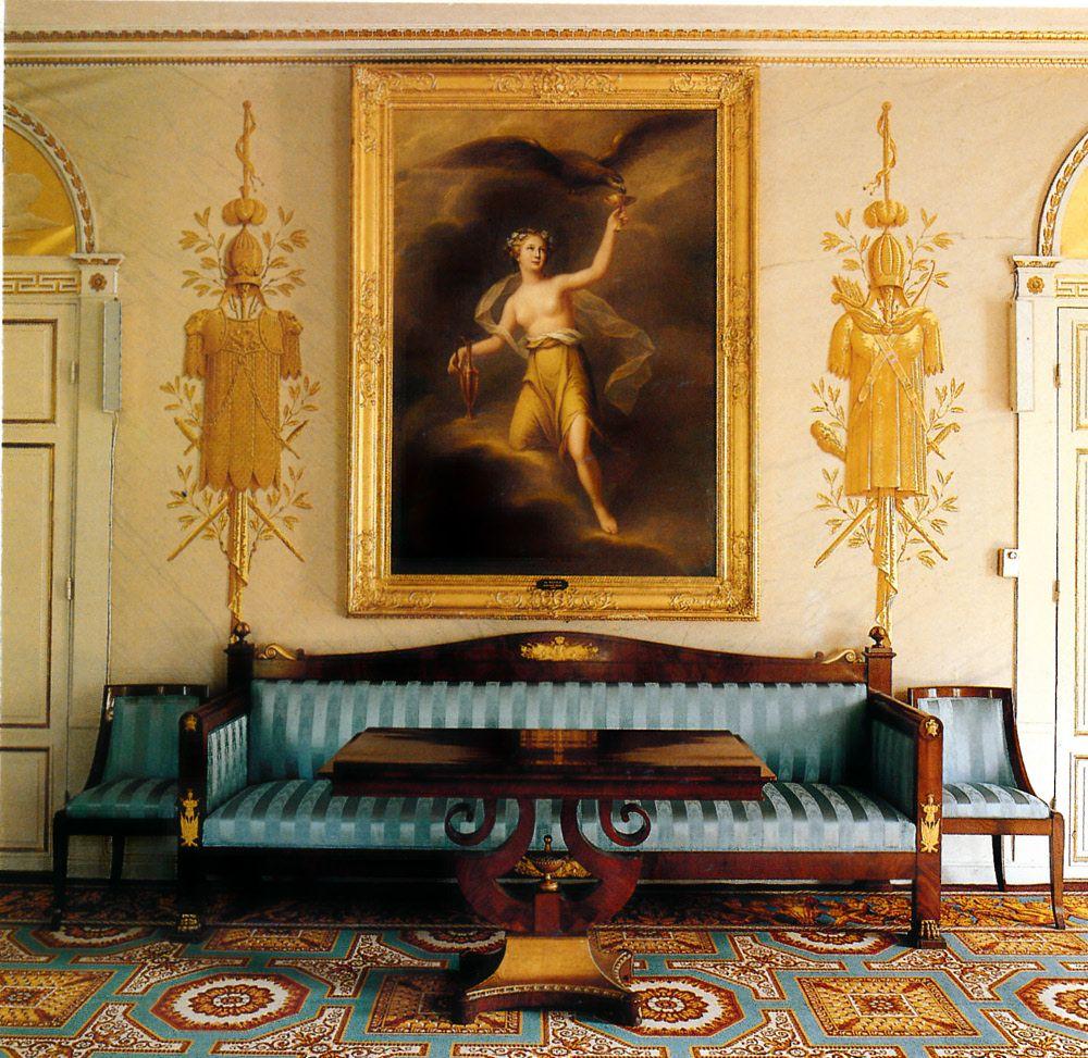 Neoclassic Empire Furniture | Empire Furniture Found In Sweden    Neoclassicism In The North: Swedish