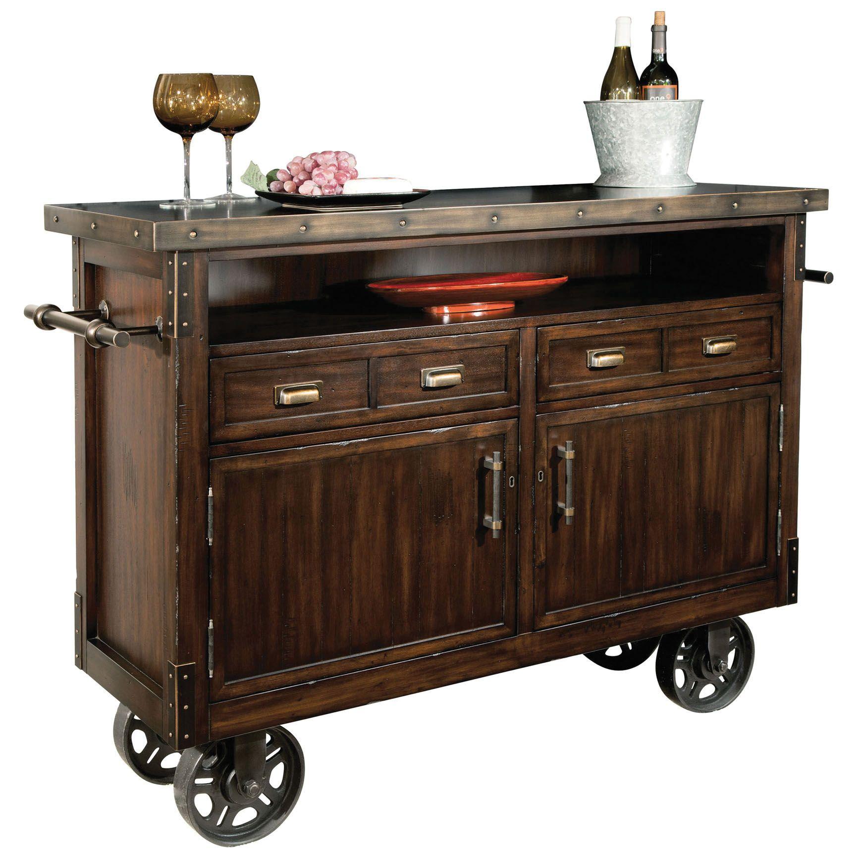 Howard Miller Barrow Wine And Bar Cabinet
