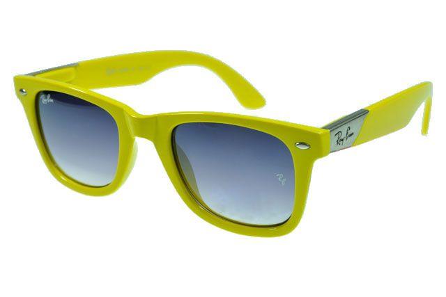 334f3db998 wholesale ray ban wayfarer rb2140 sunglasses yellow frame gray lens d2be2  22b7f