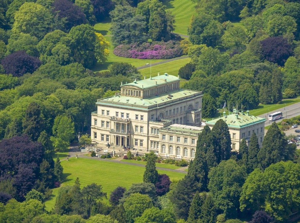 Villa Hügel früher und heute Villa hügel, Villa, Villen