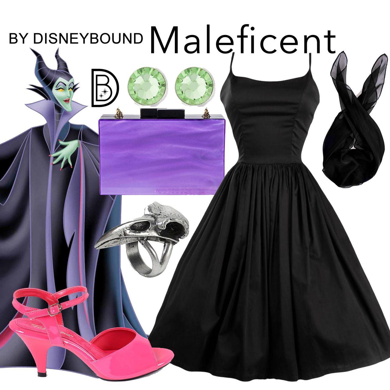 Disneybound Maleficent Disneybound Dapper Day Outfits