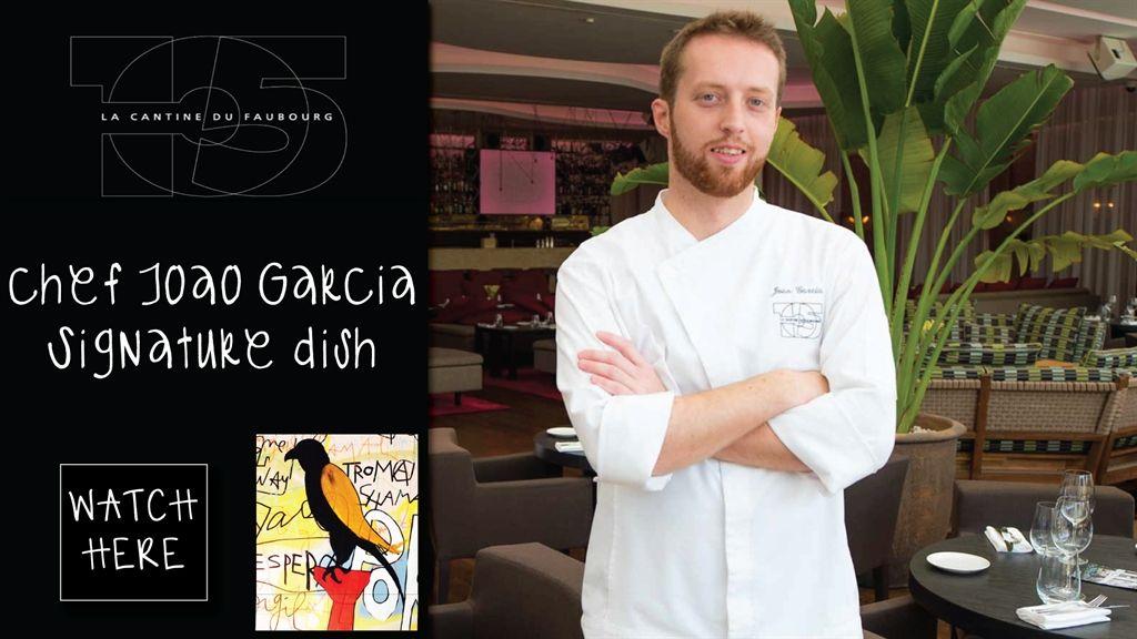 La Cantine's Chef de Cuisine Joao Garcia