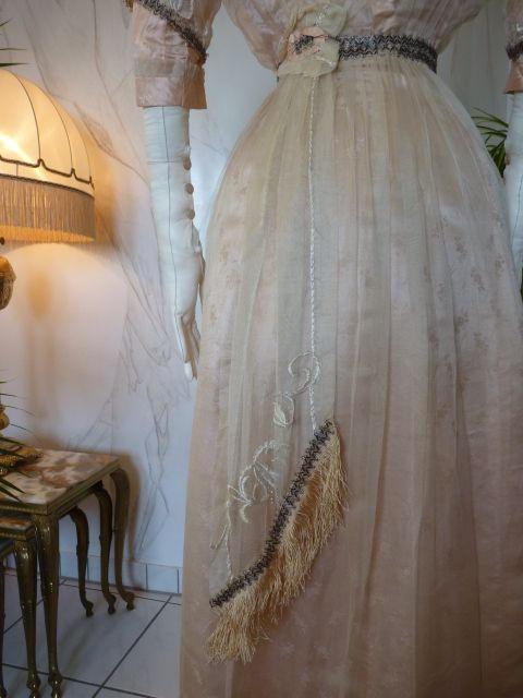 Pale Pink Silk Titanic Era Ball Gown, ca. 1912 | Clothing Post-1900 ...