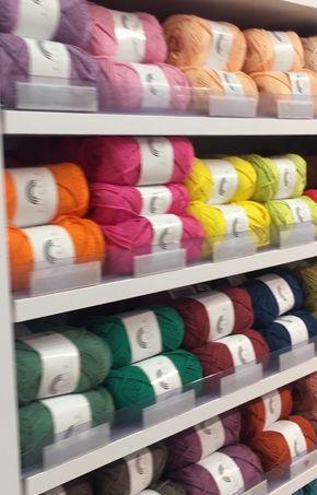 Rainbow Cotton 8/8 from Hobbii