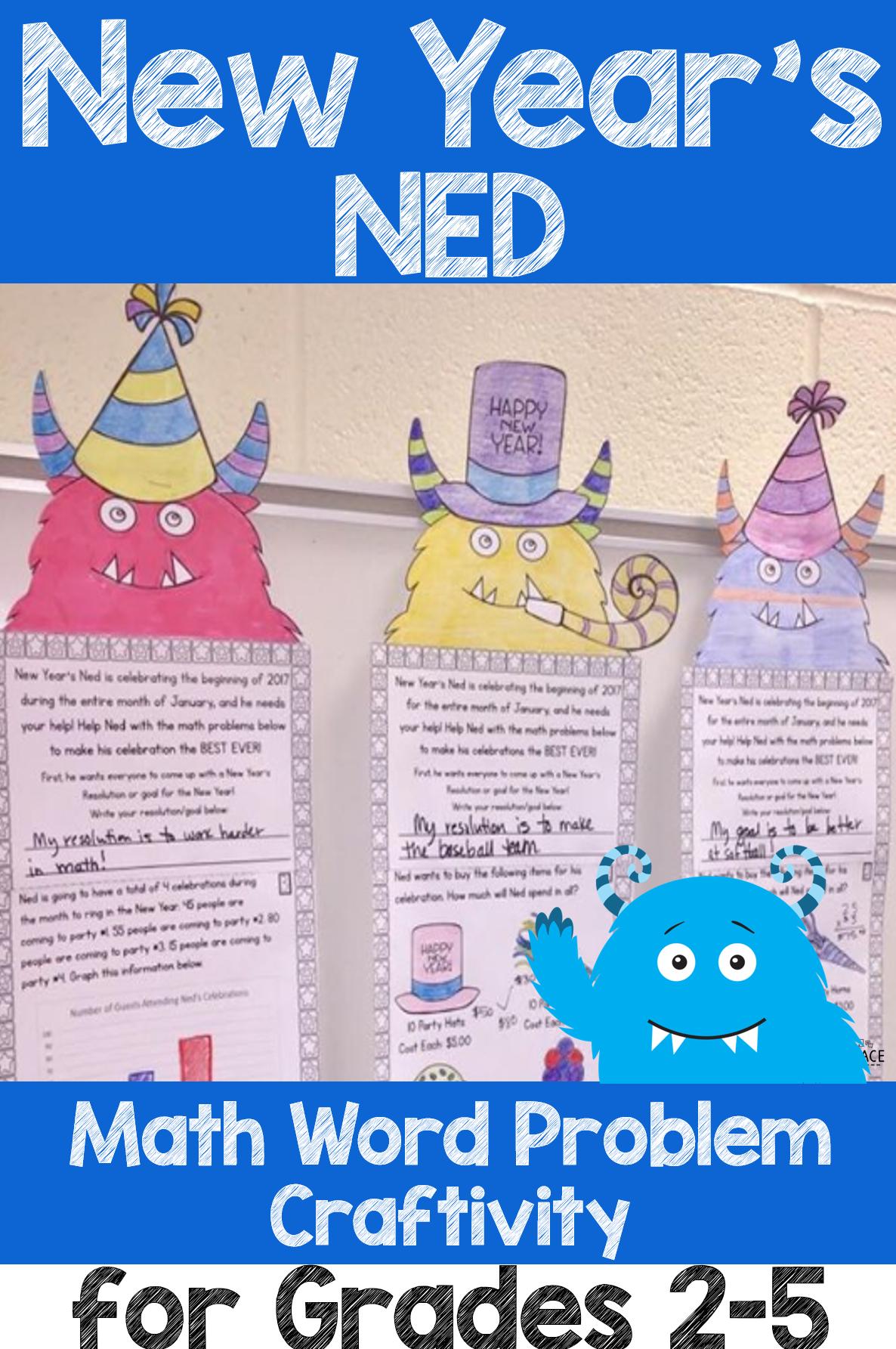 New Year S Ned Activities Math Ela