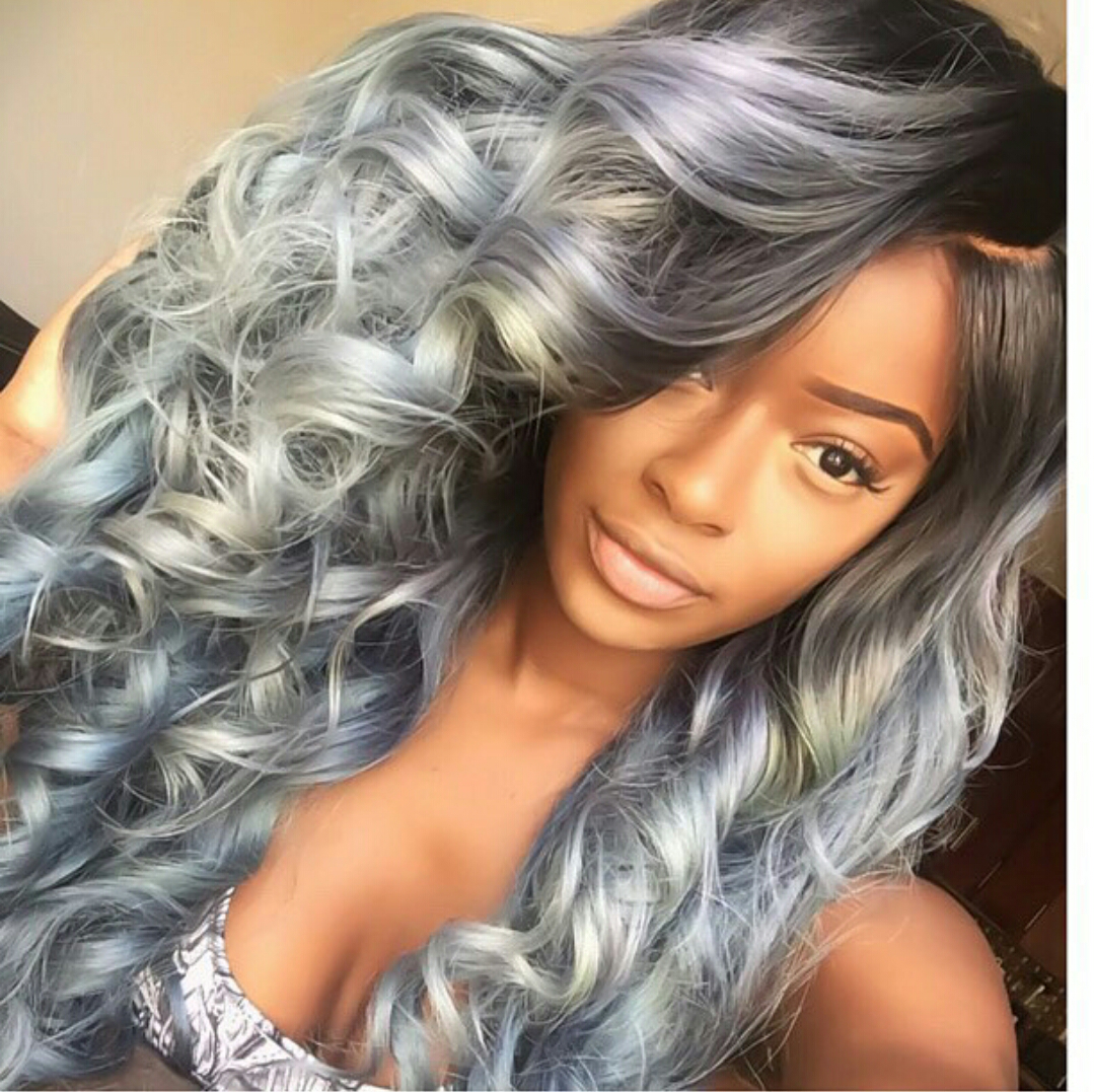 Hairstyles 2016 Hair Colors And Haircuts: 25 New Grey Hair Color Combinations For Black Women