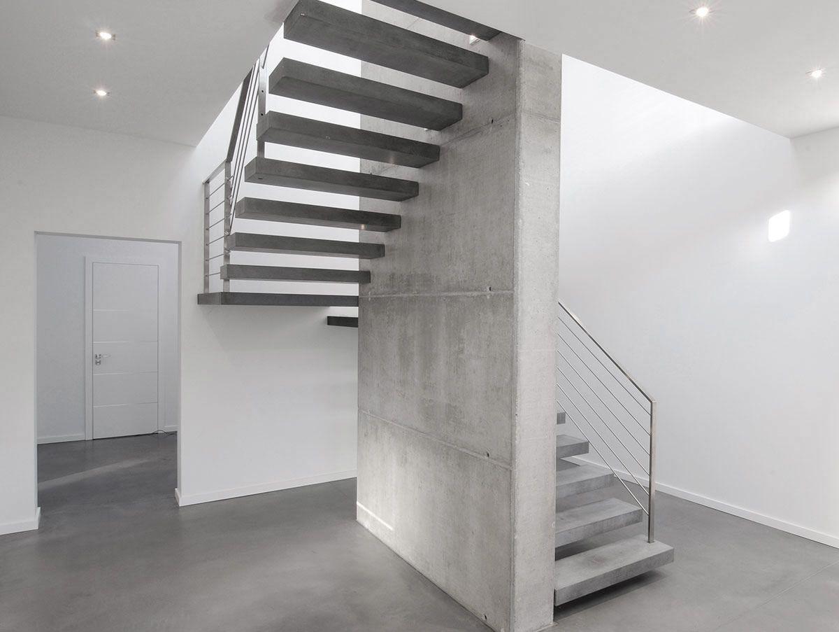 RoomStone® - Exklusives aus Sichtbeton, Beton, Design Außentreppe ...