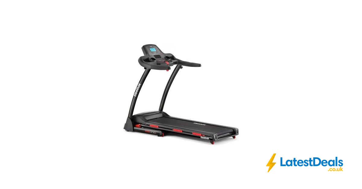 Reebok One GT40S Treadmill, £399.99 at Argos (With images