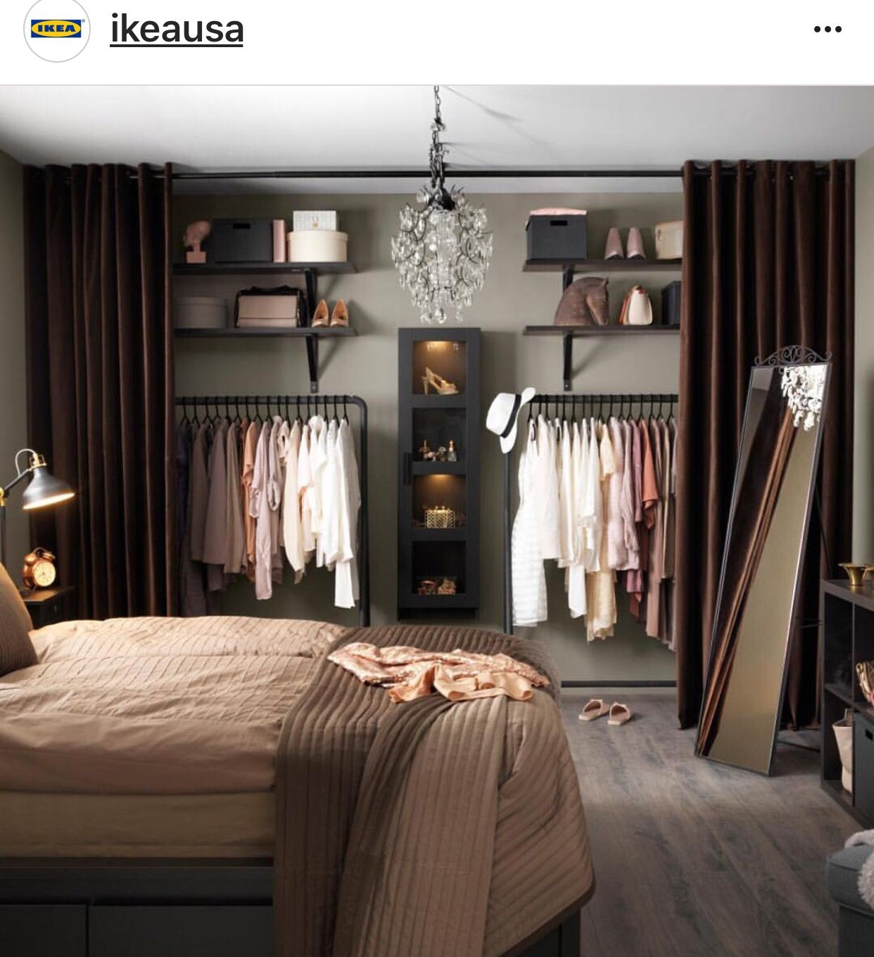 Loft bedroom closets  For my Dadus Studio  Remodeling Ideas  Pinterest  Studio
