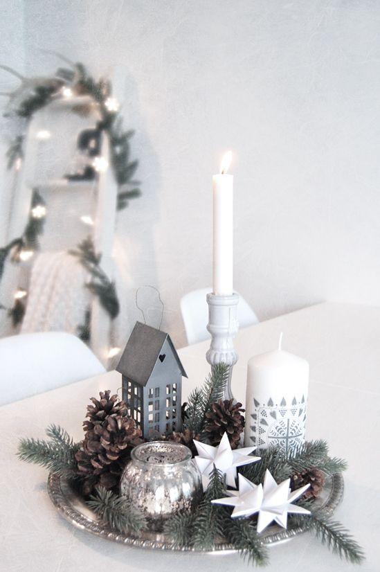 Weihnachtstablett | Weihnachtsbilder | Pinterest | Romantisch ...