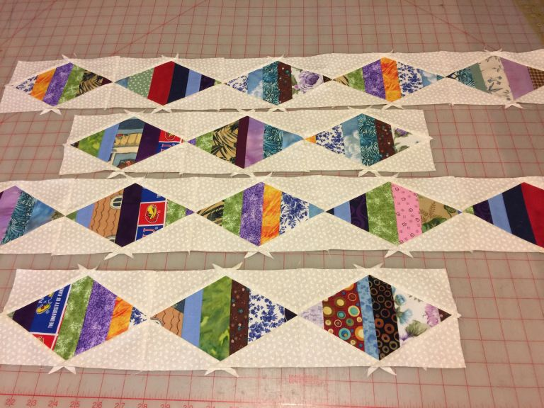 #strings – Always Quilts #jellyrollquilts