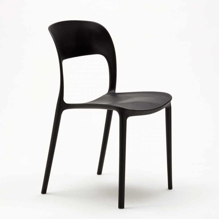 Sedie In Resina Colorate.Sedie Cucina Casa Bar Ristorante In Polipropilene Design