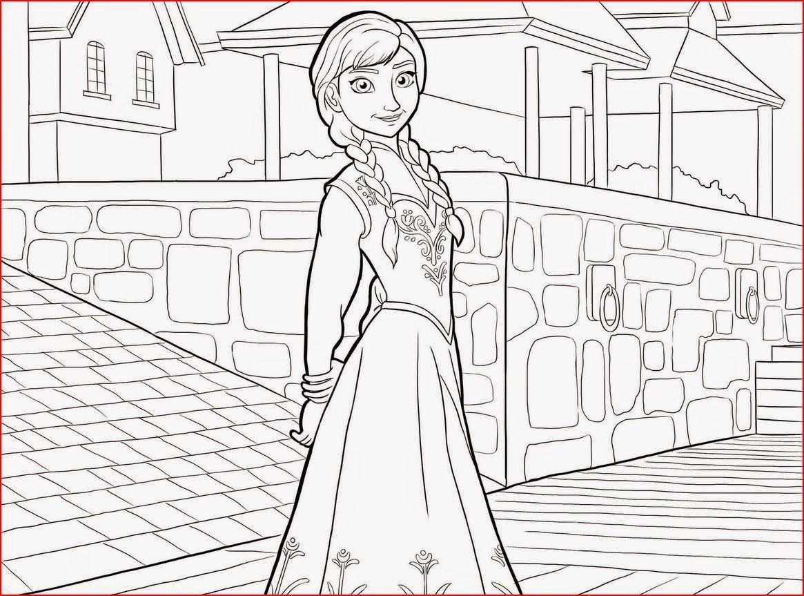 Dibujos Para Colorear De La Princesa Elsa: Princess Elsa Coloring.filminspector.com