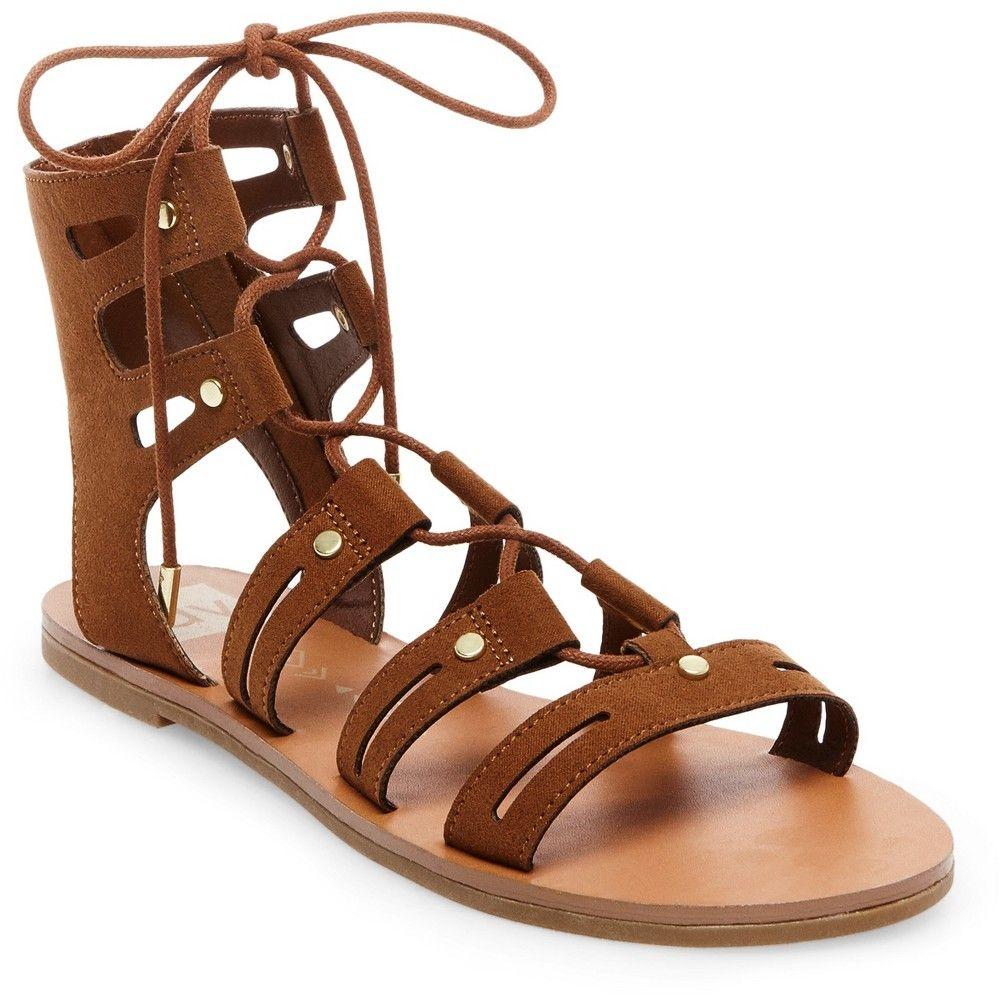 eb119dfffa29c Women s dv Gracelyn Lace Up Gladiator Sandals - Saddle Brown 7 ...
