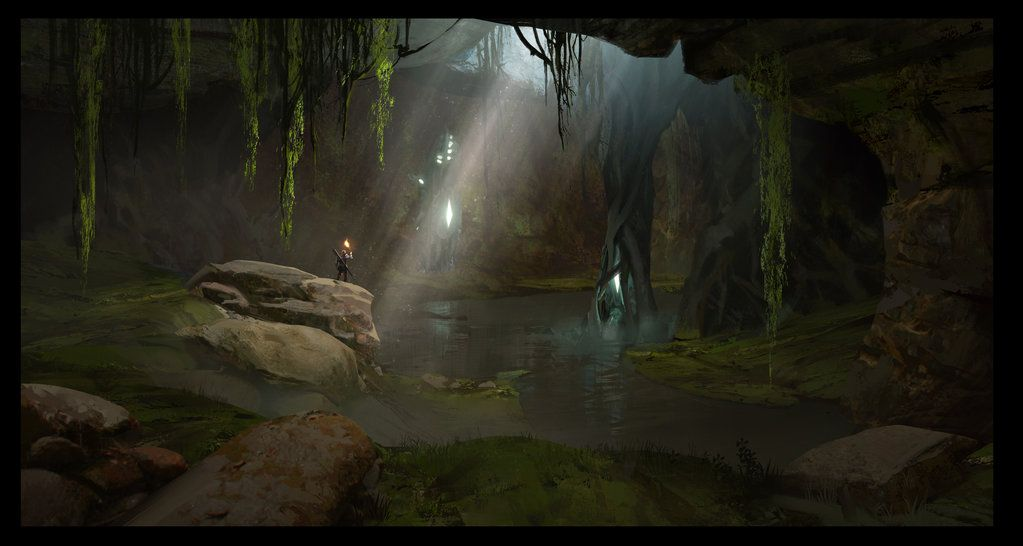 Pin By Michael Mendoza On Stinking Mire Cave Environment Design