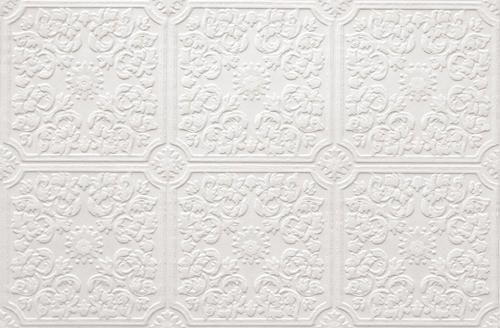 Pressed Tin Paintable Wallpaper Roll At Menards