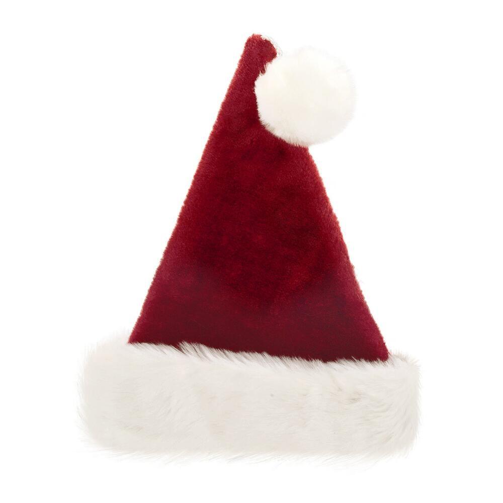 9a2b2509948a6 Luxurious Plush Santa Hat