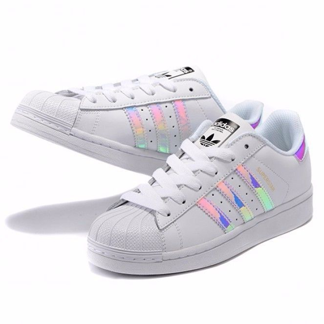 the latest 76388 6d7a7 Adidas Superstar Casual Shoes Laser Symphony white ( 59) via Polyvore  featuring shoes, adidas, adidas footwear, adidas shoes and whi…