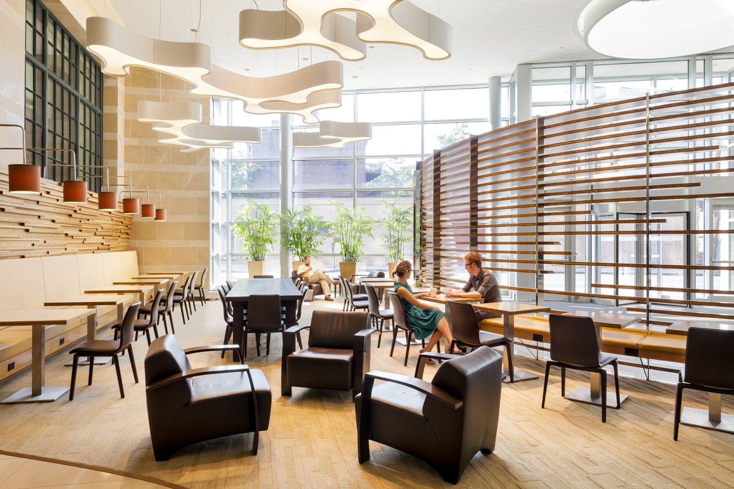 lobby café wintergarden actwo architects project 69