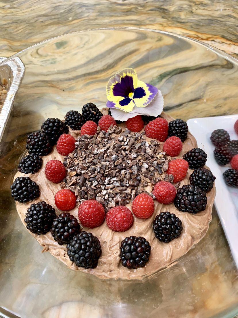 Vegan Chocolate Mousse Dessert So Divine Catering Vegan Dessert Chocolate Catering Vegan Chocolate Mousse Vegan Chocolate Wedding Catering