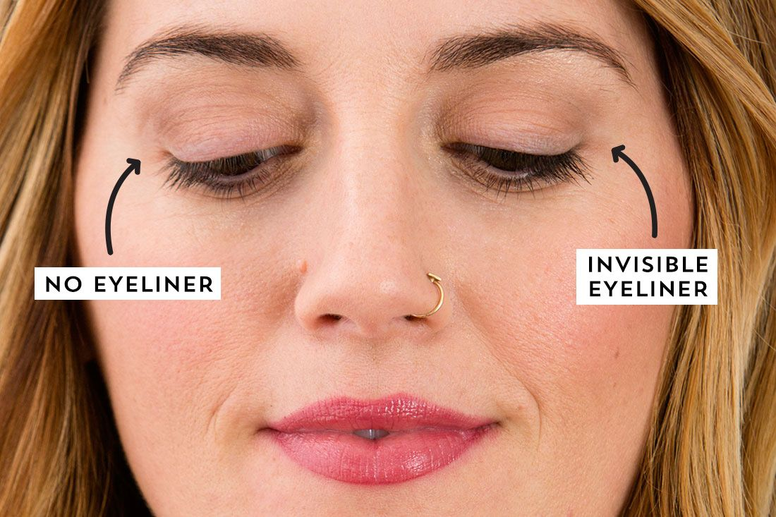 It may be subtle, but this invisible eyeliner trick makes ...
