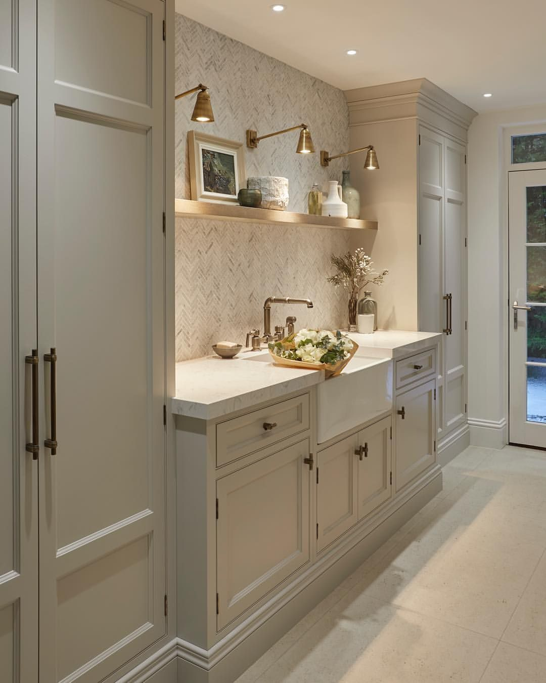 Just got the professional photos back of the utility room. Love how ...