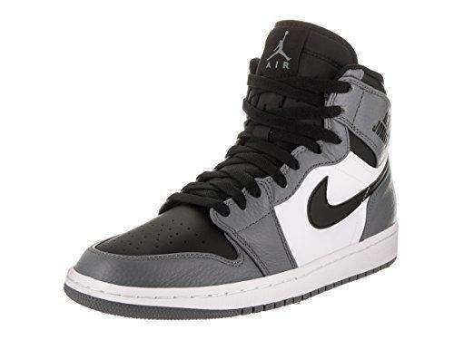 Nike Jordan Men s Air Jordan 1 Retro High Cool Grey Black White Basketball  Shoe 11 ea82bfe62