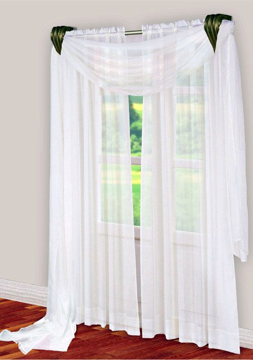 Curtain Scarf Designs Curtain Design White Paneling Elegant