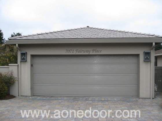 Roll up garage door by a 1 overhead door company in santa for Garage door repair santa cruz