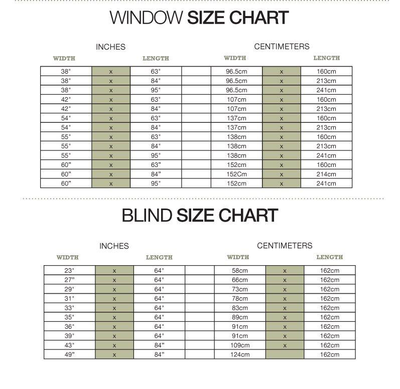 BrylaneHome Window Measuring Guide