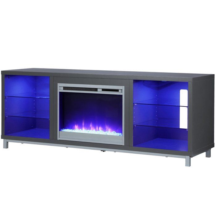 Ilyse Tv Stand For Tvs Up To 70 Inches With Fireplace