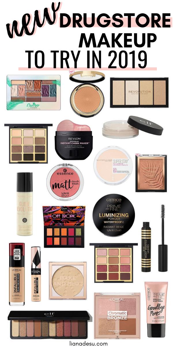 New Must Try Drugstore Makeup 2019 Drugstore Makeup Drugstore Makeup Dupes Best Drugstore Makeup