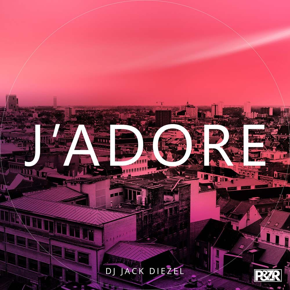 DJ Jack Diezel - J'Adore #artwork #techno #music #cover